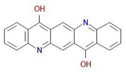 ピグメントバイオレット-19-分子構造